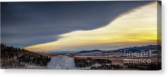 Canvas Print featuring the photograph Chinook Arch by Brad Allen Fine Art