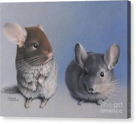 Chins Up Canvas Print