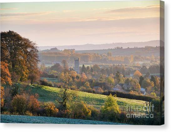 Chipping Campden Autumn Morning Cotswolds Canvas Print by Tim Gainey