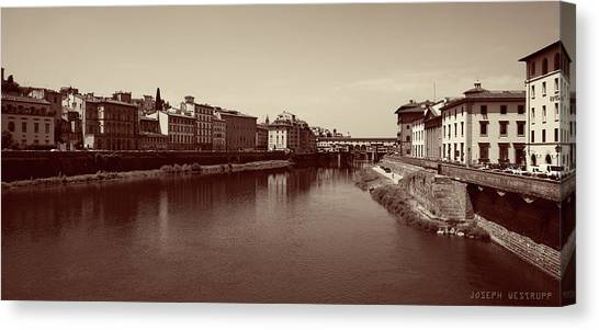 Chocolate Florence Canvas Print