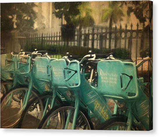 Choose Your Ride Canvas Print