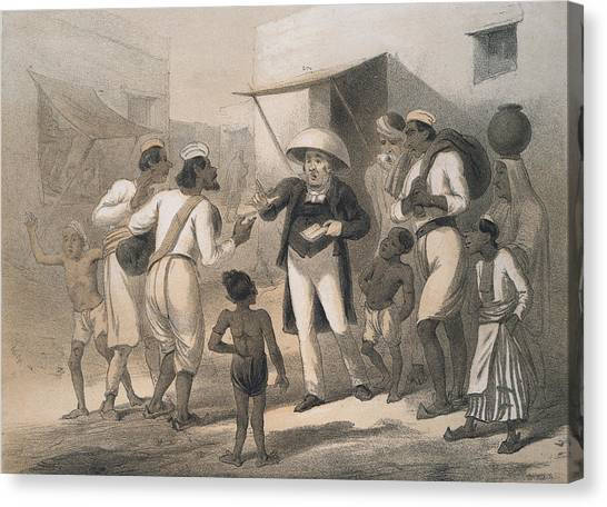 Christian Missionary Canvas Print by Hulton Archive