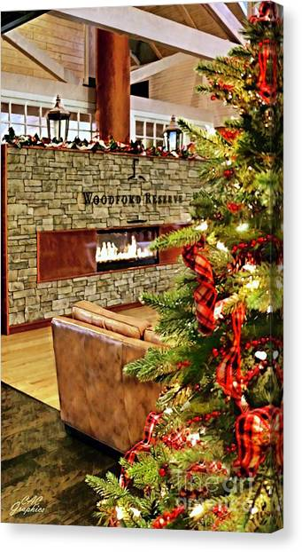 Christmas At Woodford Reserve Canvas Print