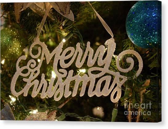Canvas Print - Christmas by Megan Cohen