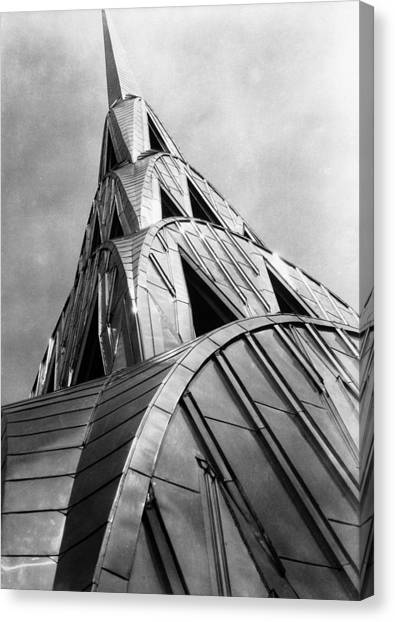 Chrysler Building Spire Canvas Print