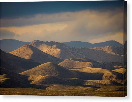 Chupadera Mountains II Canvas Print