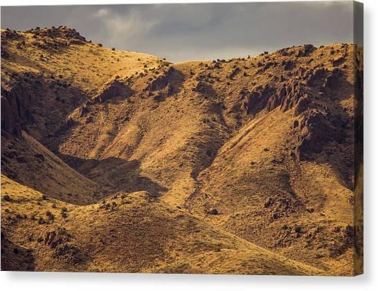 Chupadera Mountains Canvas Print