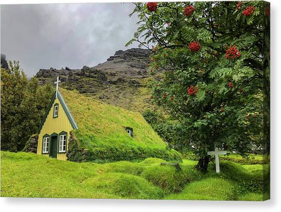 Church Of The Holy Moss Canvas Print