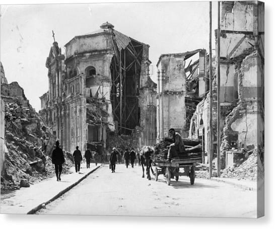 Church Ruins Canvas Print by Hulton Archive