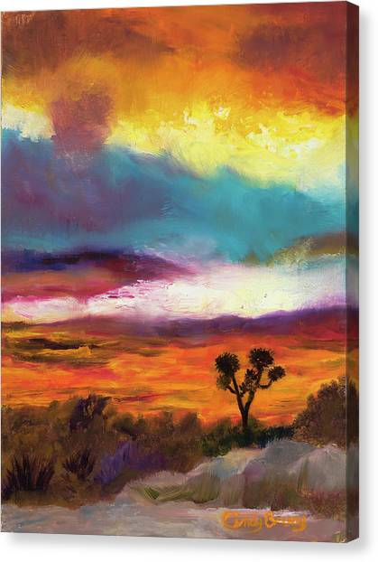 Cindy Beuoy - Arizona Sunset Canvas Print