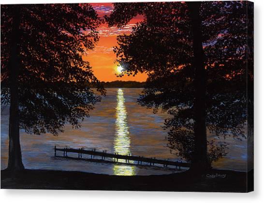 Cindy Beuoy - Lake Maxinkuckee Canvas Print