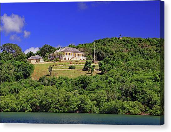 Canvas Print featuring the photograph Clarence House by Tony Murtagh