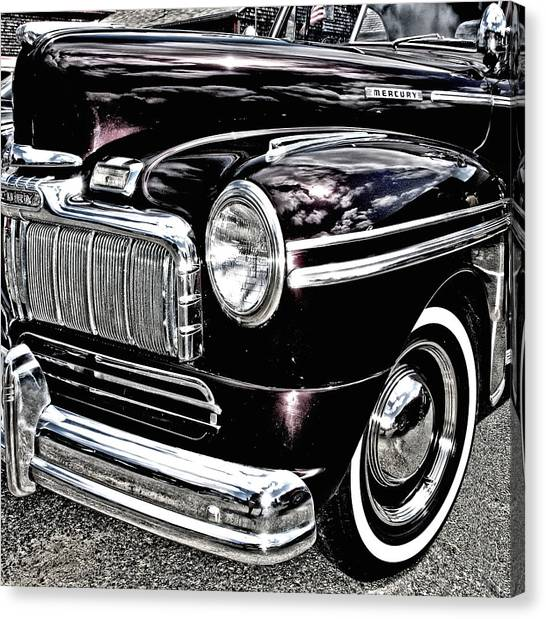 Classic Mercury Canvas Print