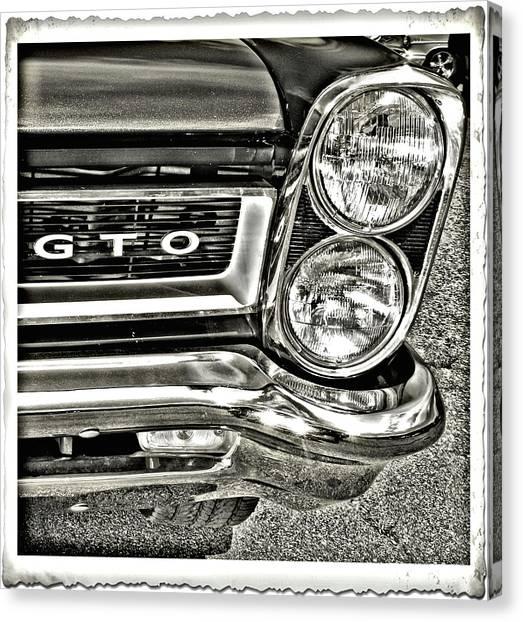 Classic Pontiac Canvas Print