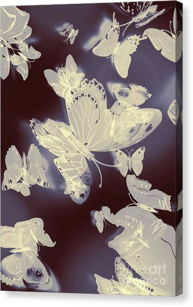Yellow Butterfly Canvas Print - Classical Movement by Jorgo Photography - Wall Art Gallery