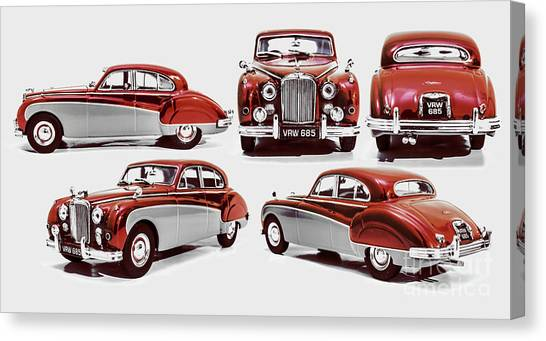 50s Canvas Print - Classically British by Jorgo Photography - Wall Art Gallery