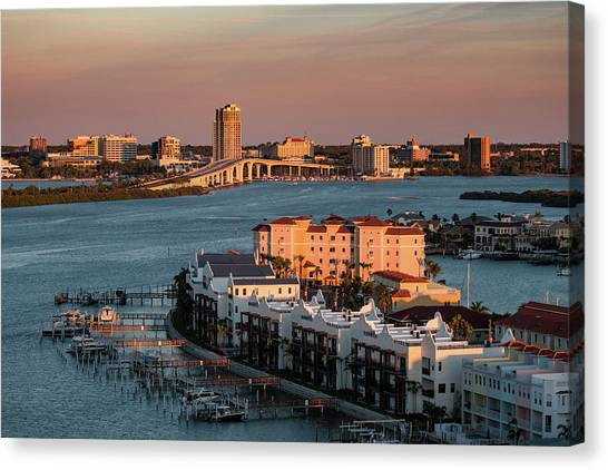 Clearwater Evening Canvas Print