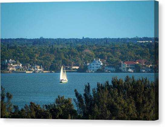 Clearwater Sails Canvas Print
