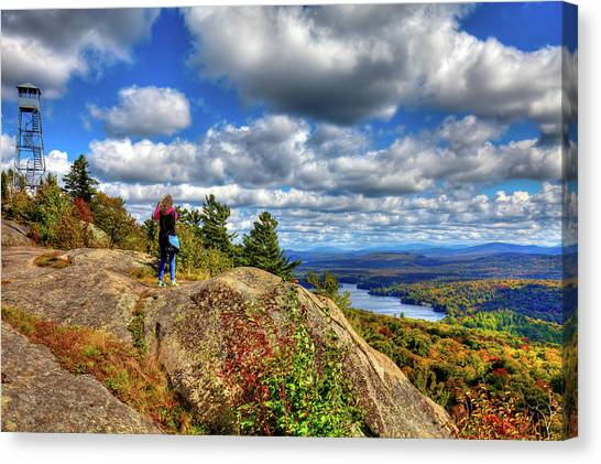 Canvas Print featuring the photograph Close To Heaven On Earth by David Patterson