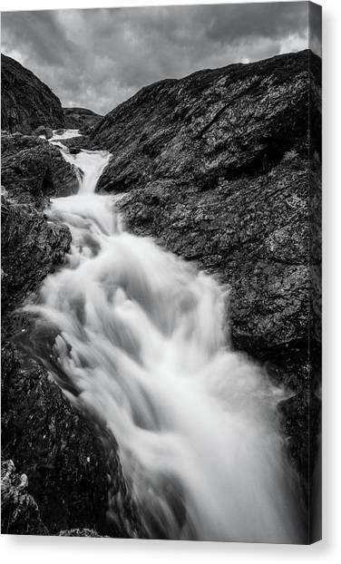 close to Ygnisdalselvi, Norway Canvas Print