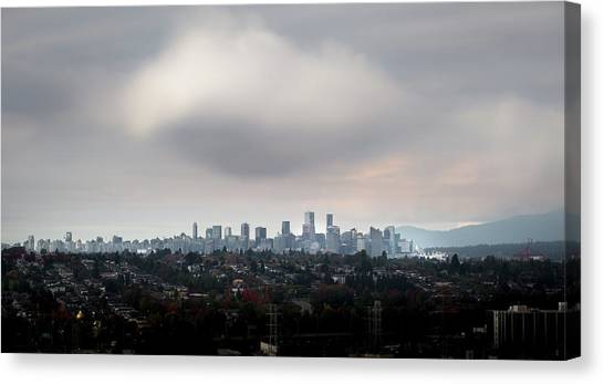 Cloud On Vancouver  Canvas Print