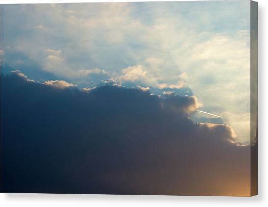 Canvas Print featuring the photograph Cloud-scape 1 by Stewart Marsden