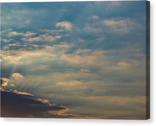 Canvas Print featuring the photograph Cloud-scape 2 by Stewart Marsden