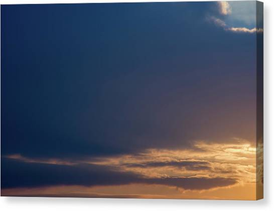 Canvas Print featuring the photograph Cloud-scape 3 by Stewart Marsden