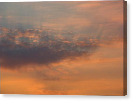 Canvas Print featuring the photograph Cloud-scape 4 by Stewart Marsden