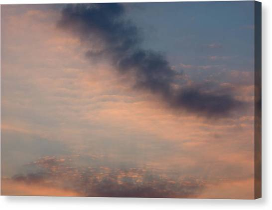 Canvas Print featuring the photograph Cloud-scape 5 by Stewart Marsden