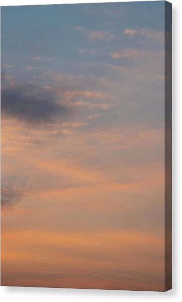 Canvas Print featuring the photograph Cloud-scape 6 by Stewart Marsden