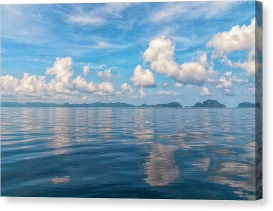 Clouded Bliss Canvas Print