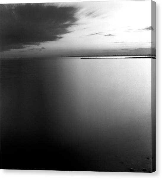 Clouds And Water Canvas Print