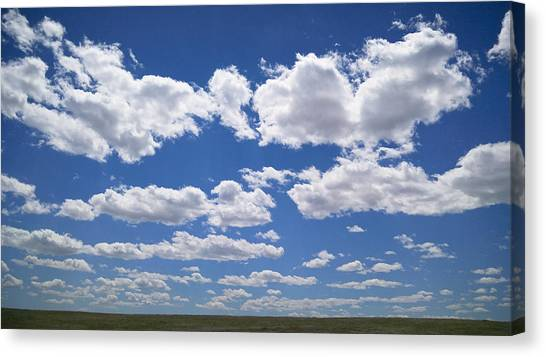 Clouds, Part 1 Canvas Print