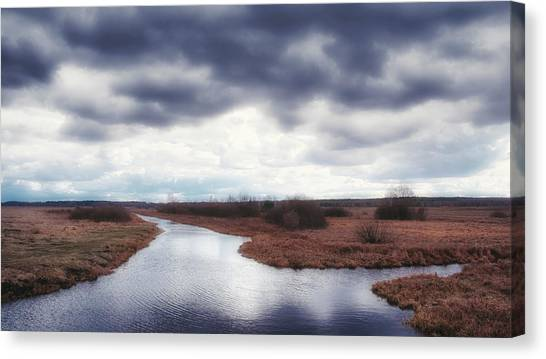 Cloudside. Kuchynivka, 2015. Canvas Print
