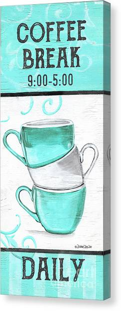 Canvas Print - Coffee Break by Debbie DeWitt