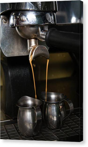 Coffee Maker Canvas Print