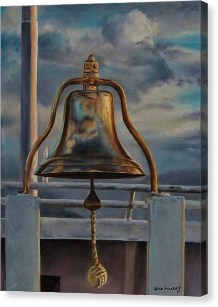Coho Ferry's Bell Canvas Print