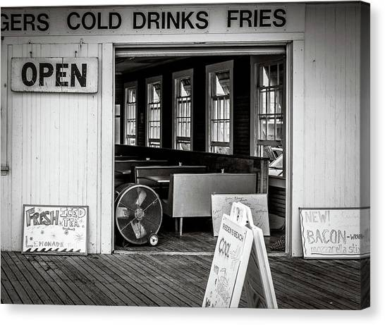 Canvas Print featuring the photograph Cold Drinks by Steve Stanger