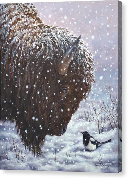 Cold Weather Cohorts Canvas Print