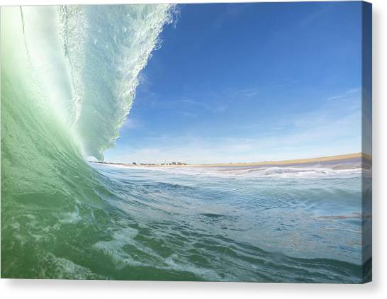 Coldlantic Canvas Print
