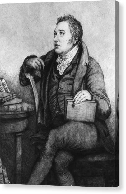 Coleridge Canvas Print by Hulton Archive