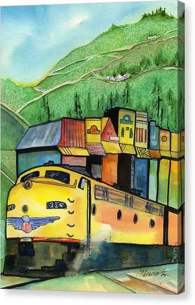 Colfax California Canvas Print