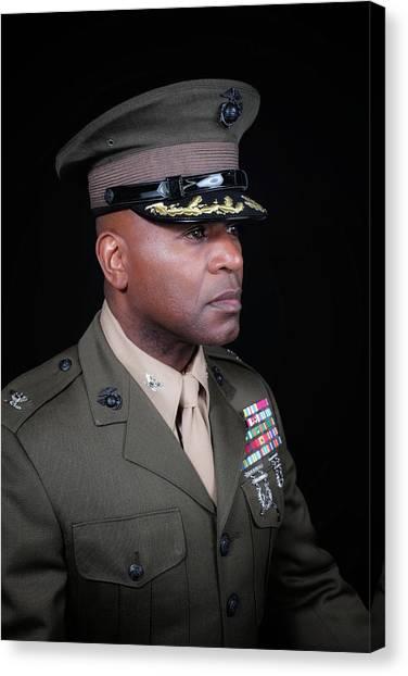 Colonel Trimble 1 Canvas Print