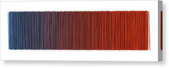 Block Canvas Print - Color And Lines 6 by Scott Norris