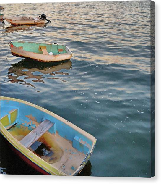 Canvas Print featuring the photograph Color Crew by JAMART Photography