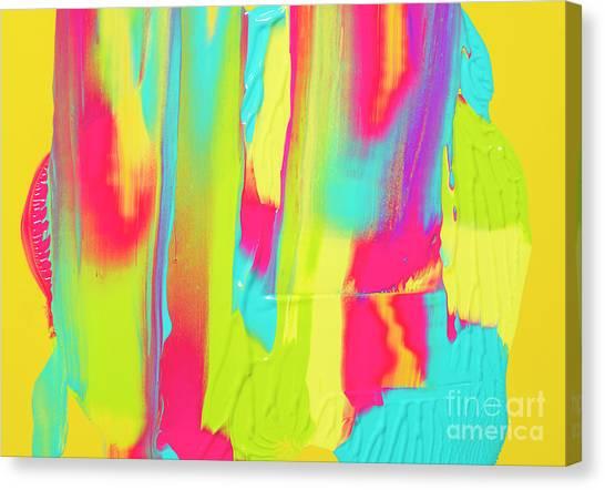 Color Ink Canvas Print by Yagi Studio