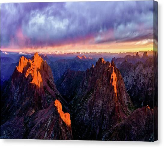 Colorado Re-mastered Canvas Print