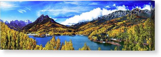 Colorados Finest Autumn Day Canvas Print