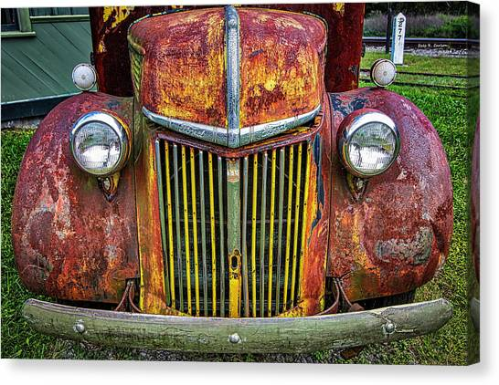 Colorful Ford Canvas Print